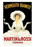 Martini and Rossi Kunst av Marcello Dudovich