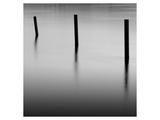Three Poles at Gold Beach Konst av Shane Settle