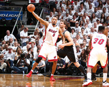 2014 NBA Finals Game Three: Jun 10, Miami Heat vs San Antonio Spurs - Rashard Lewis Photographic Print by Nathaniel S. Butler