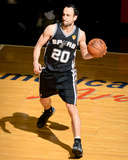 2014 NBA Finals Game Four: Jun 12, Miami Heat vs San Antonio Spurs - Manu Ginobili Photographic Print by Garrett Ellwood