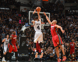 2014 NBA Finals Game One: Jun 5, Miami Heat vs San Antonio Spurs - Danny Green Photographic Print by Jesse D. Garrabrant
