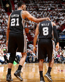 2014 NBA Finals Game Four: Jun 12, Miami Heat vs San Antonio Spurs - Tim Duncan Photographic Print by Nathaniel S. Butler