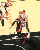 2014 NBA Finals Game Five: Jun 15, Miami Heat vs San Antonio Spurs - Michael Beasley Photo by Nathaniel S. Butler