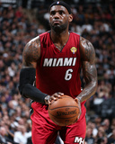 2014 NBA Finals Game One: Jun 5, Miami Heat vs San Antonio Spurs - Lebron James Foto af Nathaniel S. Butler