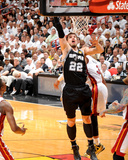 2014 NBA Finals Game Four: Jun 12, Miami Heat vs San Antonio Spurs - Tiago Splitter Photographic Print by Andrew Bernstein