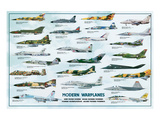 Modern Warplanes Prints by Libero Patrignani