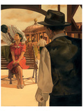 Romance on the Pier Affischer av Graham Reynold