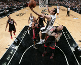 2014 NBA Finals Game Two: Jun 8, Miami Heat vs San Antonio Spurs - Manu Ginobili Photo by Nathaniel S. Butler