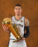 2014 NBA Finals Game Five: Jun 15, Miami Heat vs San Antonio Spurs - Danny Green Photographic Print by Jesse D. Garrabrant