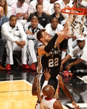 2014 NBA Finals Game Three: Jun 10, Miami Heat vs San Antonio Spurs - Tiago Splitter Photo by Issac Baldizon