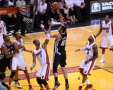 2014 NBA Finals Game Three: Jun 10, Miami Heat vs San Antonio Spurs - Tim Duncan Photo by Noah Graham