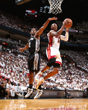 2014 NBA Finals Game Three: Jun 10, Miami Heat vs San Antonio Spurs - Ray Allen Photographic Print by Nathaniel S. Butler