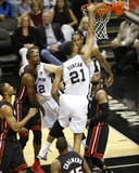 2014 NBA Finals Game Two: Jun 8, Miami Heat vs San Antonio Spurs - Tim Duncan Photo by Joe Murphy