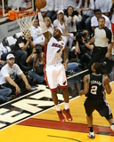 2014 NBA Finals Game Three: Jun 10, Miami Heat vs San Antonio Spurs - Lebron James Photographic Print by Joe Murphy