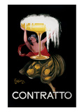Contratto Prints by Leonetto Cappiello