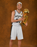 2014 NBA Finals Game Five: Jun 15, Miami Heat vs San Antonio Spurs - Manu Ginobili Photo by Jesse D. Garrabrant