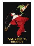 Sauvion's Brandy Poster by Leonetto Cappiello