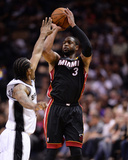 2014 NBA Finals Game Two: Jun 8, Miami Heat vs San Antonio Spurs - Dwayne Wade Photo by Noah Graham