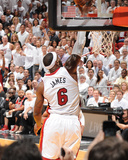 2014 NBA Finals Game Three: Jun 10, Miami Heat vs San Antonio Spurs - Lebron James Photographic Print by Andrew Bernstein