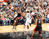 2014 NBA Finals Game Two: Jun 8, Miami Heat vs San Antonio Spurs - Lebron James Photographic Print by Andrew Bernstein