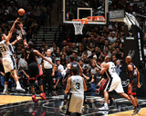 2014 NBA Finals Game Two: Jun 8, Miami Heat vs San Antonio Spurs - Tim Duncan, Chris Bosh Photo by Garrett Ellwood
