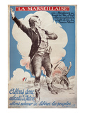 La Marseillaise Posters by Jacques Carlu