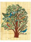 Tree with Sacred Birds Prints