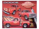 L'il Red Express Truck Print