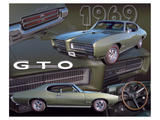 1969 GTO Posters