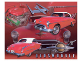 1950 Olds Print
