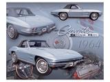 1964 Corvette Print