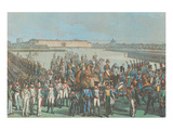 Napoleon et la Cavallerie d'Italie Print