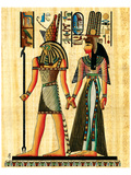 Horus and Nefertiti Prints