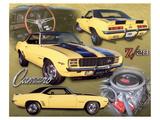 1969 Z28 Camaro Art