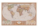 Kart over verden Kunst