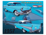 1957 Chevy Póster