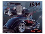 1934 Chevy Poster