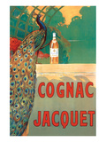 Cognac Jacquet Plakat af Camille Bouchet