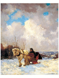 March Morning, the Red Cariole Prints by Frederick Simpson Coburn
