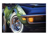 Corvette 1970 in St. Louis Poster von Graham Reynold