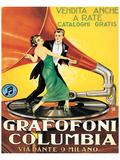 Grafofoni Columbia, Milano Print