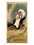 F.I.A.T., Fabbrica Italiana di Automobili Posters by G. Carpanetto