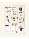 Columns Study Prints by Libero Patrignani