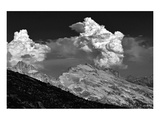 Mount Washington in Clouds Posters av Shane Settle