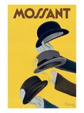 Hüte von Mossant Kunstdrucke von Leonetto Cappiello