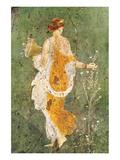 Pompei Primavera Poster
