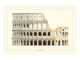 Roma, Il Colosseo Affiches par Libero Patrignani