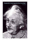 Einstein - Imagination Posters