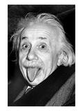 Einstein, langue Affiche