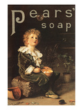 Pear's Soap, 1886 Art